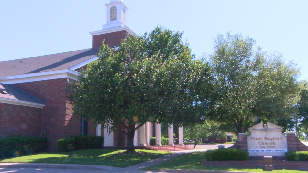Immediately after the storm, First Baptist Church in Van became a medical triage center,...