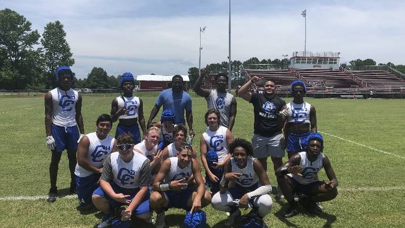 The Corrigan Bulldogs will play in their first ever state 7on7 tournament Thursday in the DIII...