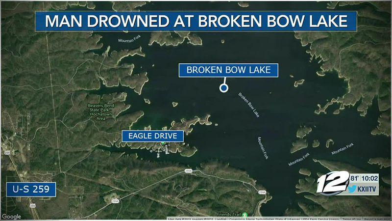 Man drowned on Broken Bow lake