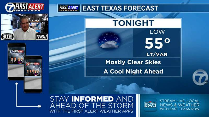 Another beautiful/cool night ahead.