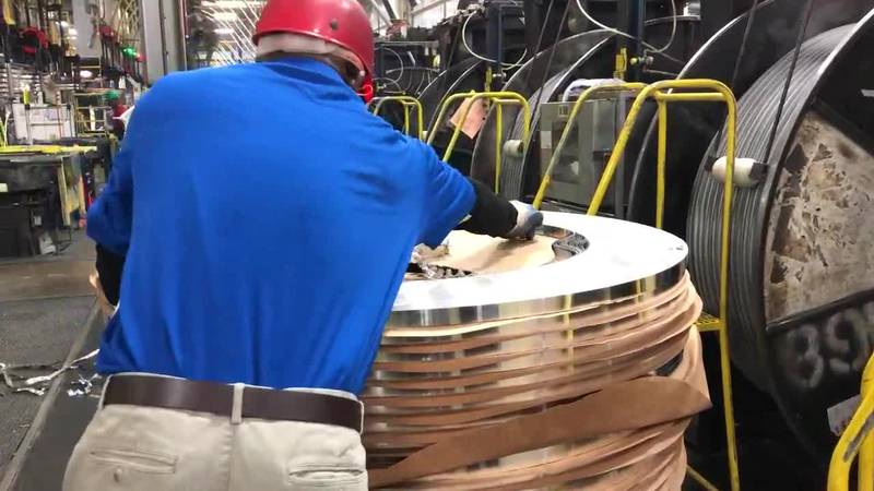 Trane Manufacturing officially unveiled its remodeled facility in Tyler on Thursday, July 25,...