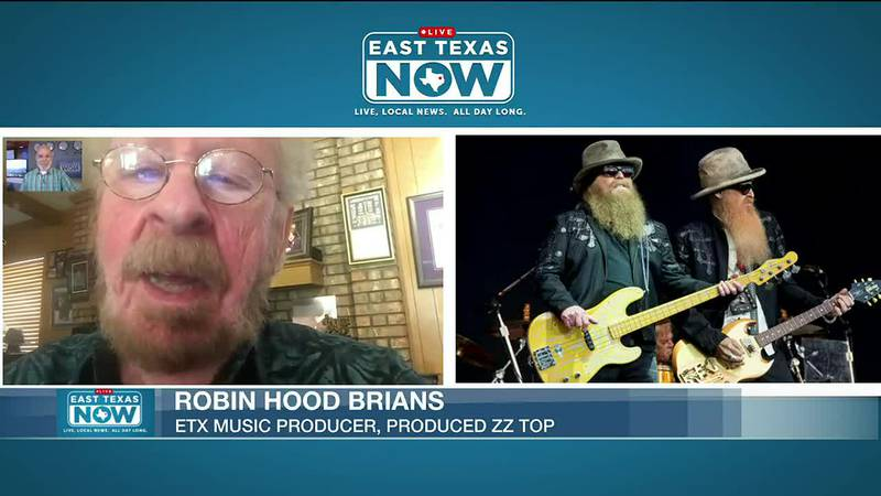 Robin Hood Brians on East Texas Now KLTV