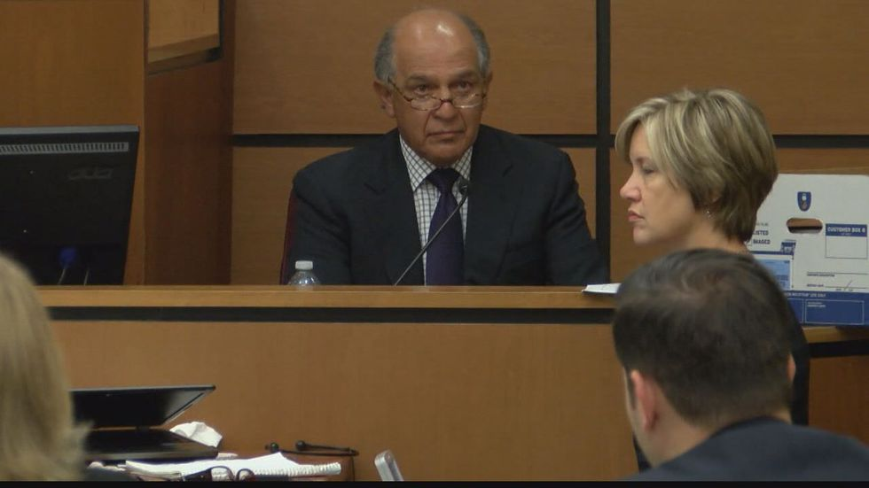 Psychiatry experts testify on day 10 of Bernie Tiede's sentencing trial. (Source: Pool camera)