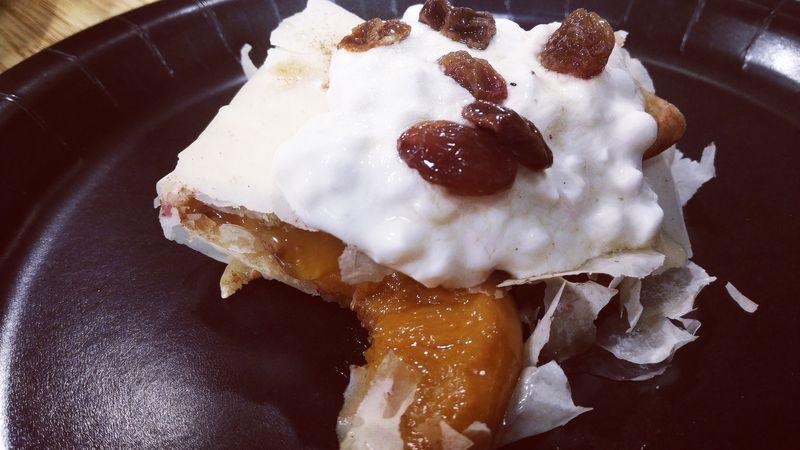 Peach Crepes by Brigitta's Hungarian Restaurant (Source: East Texas Kitchen/KLTV)