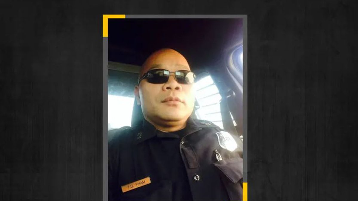 Houston police officer Tam Pham, an 18-year veteran of the department, has received federal...