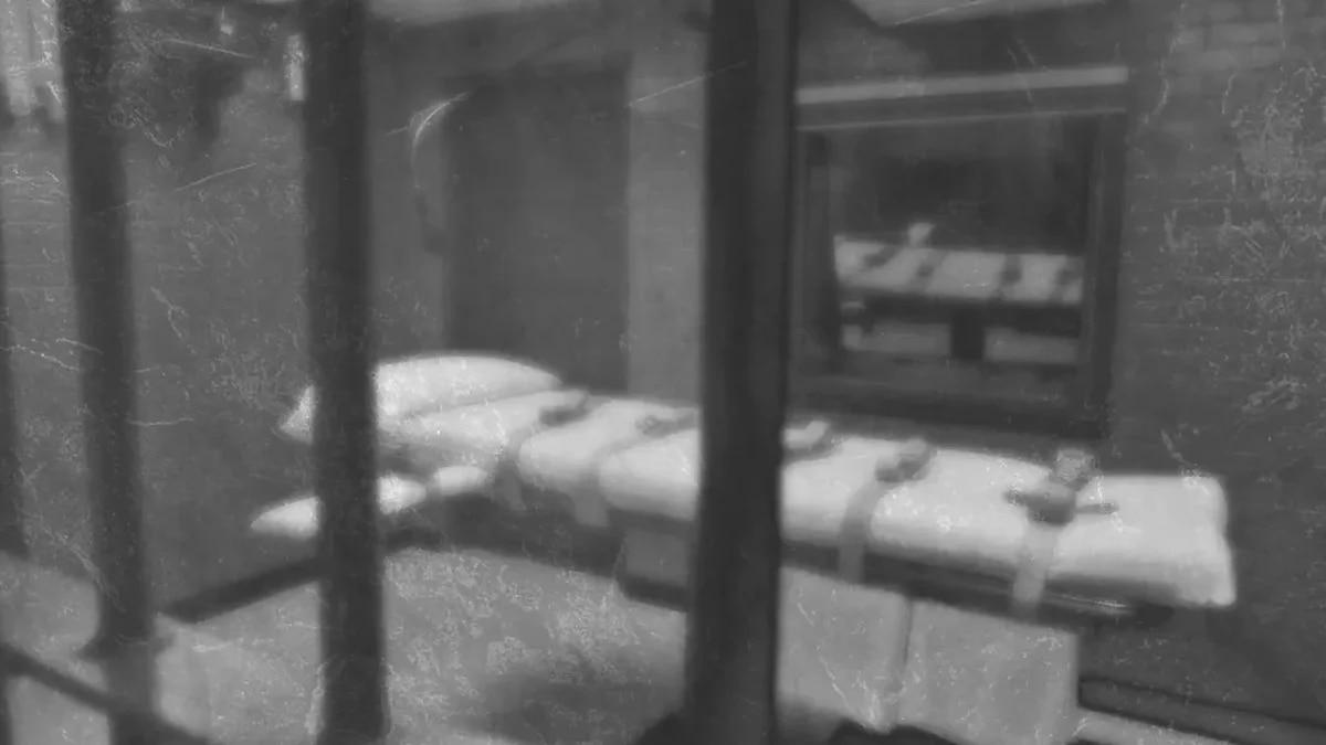 Inside Texas' execution chamber.