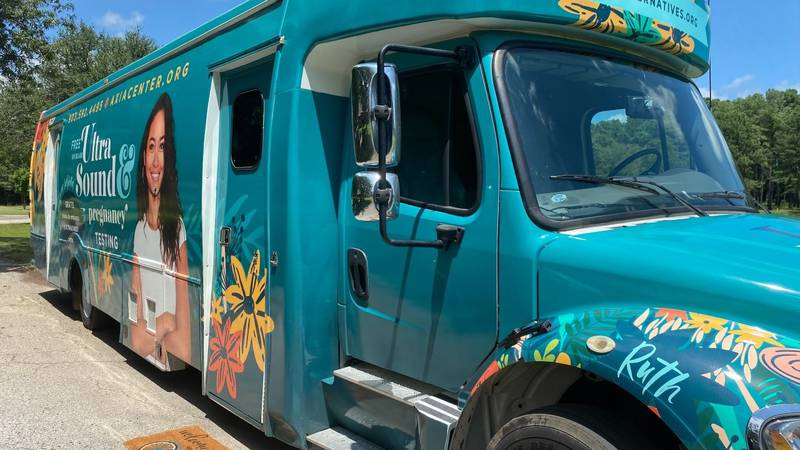 Living Alternatives has deployed a mobile unit which allows them to bring pregnancy tests and...