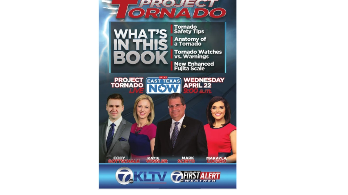 Print a copy of the Project Tornado booklet and stay prepared for severe weather when it...