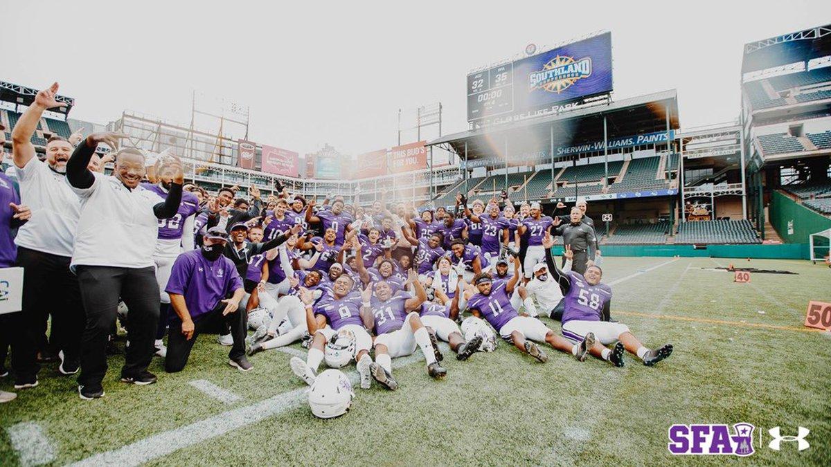 SFA football wins over ACU (SFA Athletics)