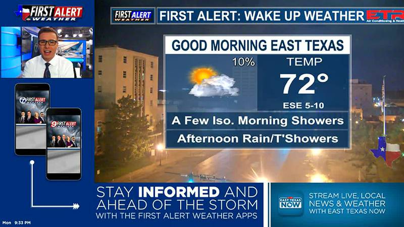 Monday Overnight Weather At Your Fingertips 7-5-21