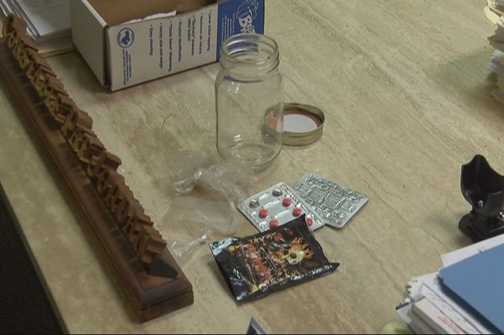 Items taken from pasture party. (Source: KLTV staff)