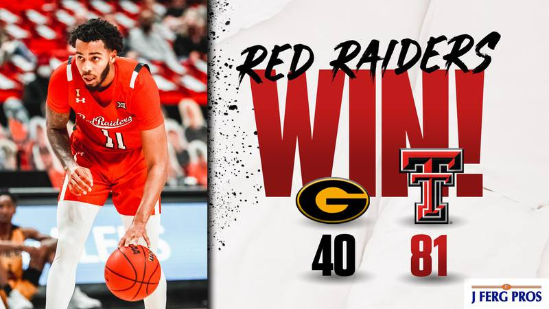 The 17th ranked Red Raiders used a dominating defensive effort to stop Grambling 81-40 Sunday...