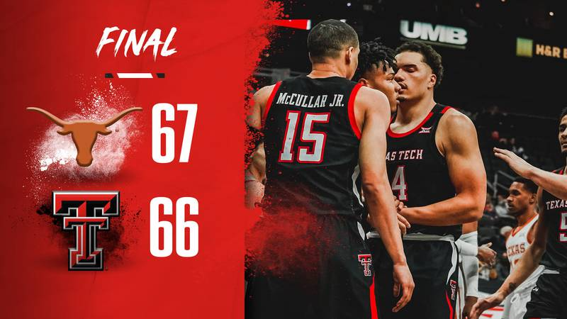 #6 Red Raiders fall to #3 UT in Big 12 Tournament, 66-67