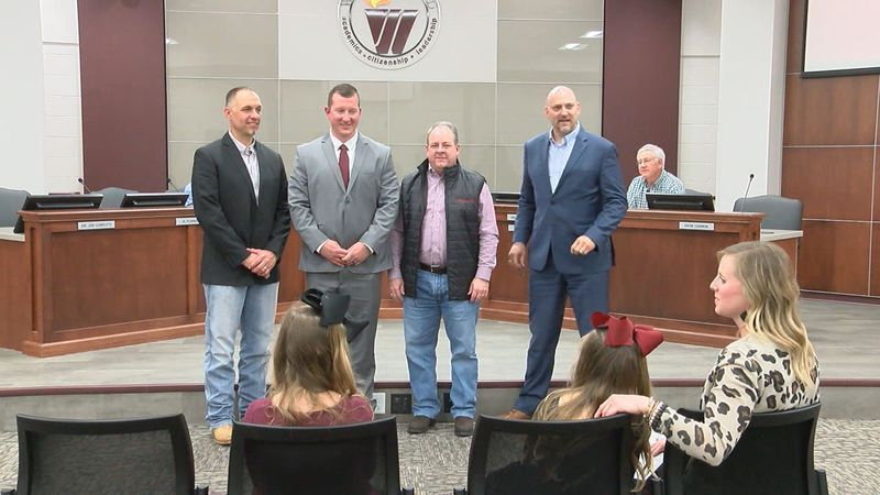 Kyle Westerberg hired by Whitehouse ISD on Monday (KLTV)