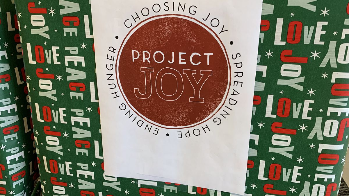 Project Joy returns for their 30 annual Christmas outreach program for families in need in the...