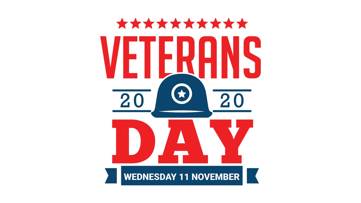 Watch the 2020 Veterans Day Commemoration at 11 a.m. on Wednesday, November 11.