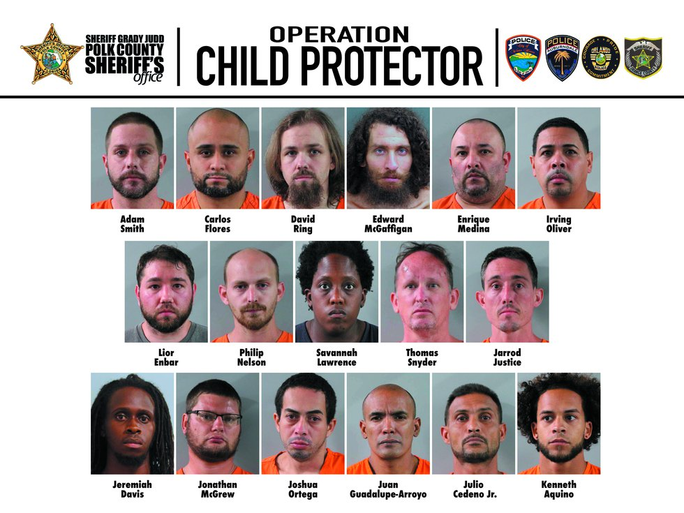 These suspects used social media to communicate to what they thought were 13 and 14 year old...