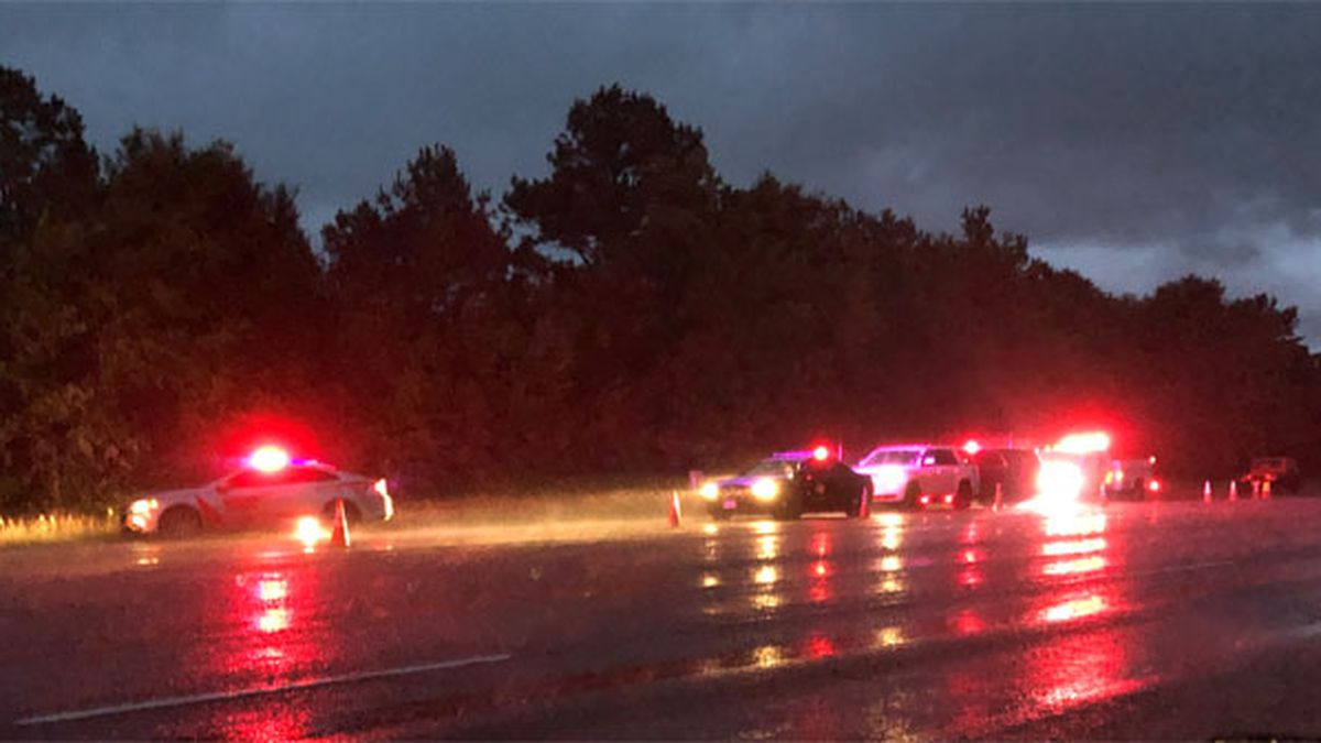 Pictured is the scene of a fatal wreck that occurred early Saturday morning in Anderson County....