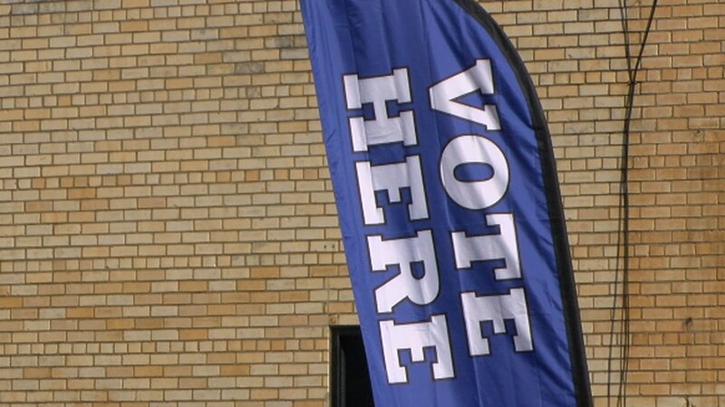 Polling location in Tyler