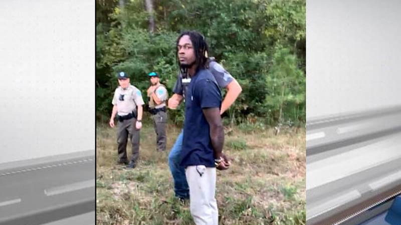 Elliott Caldwell Jr. the focus of a manhunt in Trinity County, is now in custody. (Source:...