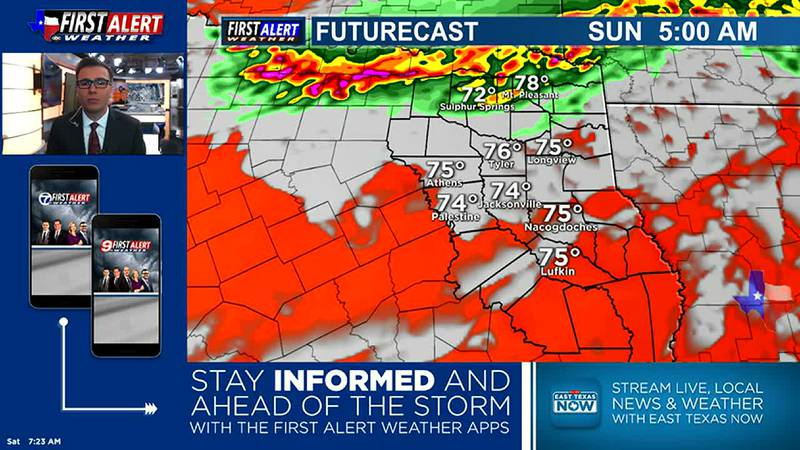 Saturday Morning Weather At Your Fingertips 7-10-21