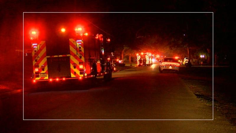 Good Samaritan rescue man from house fire