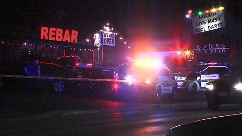 Police are searching for a shooter who opened fire after he was denied entry into a bar in San...