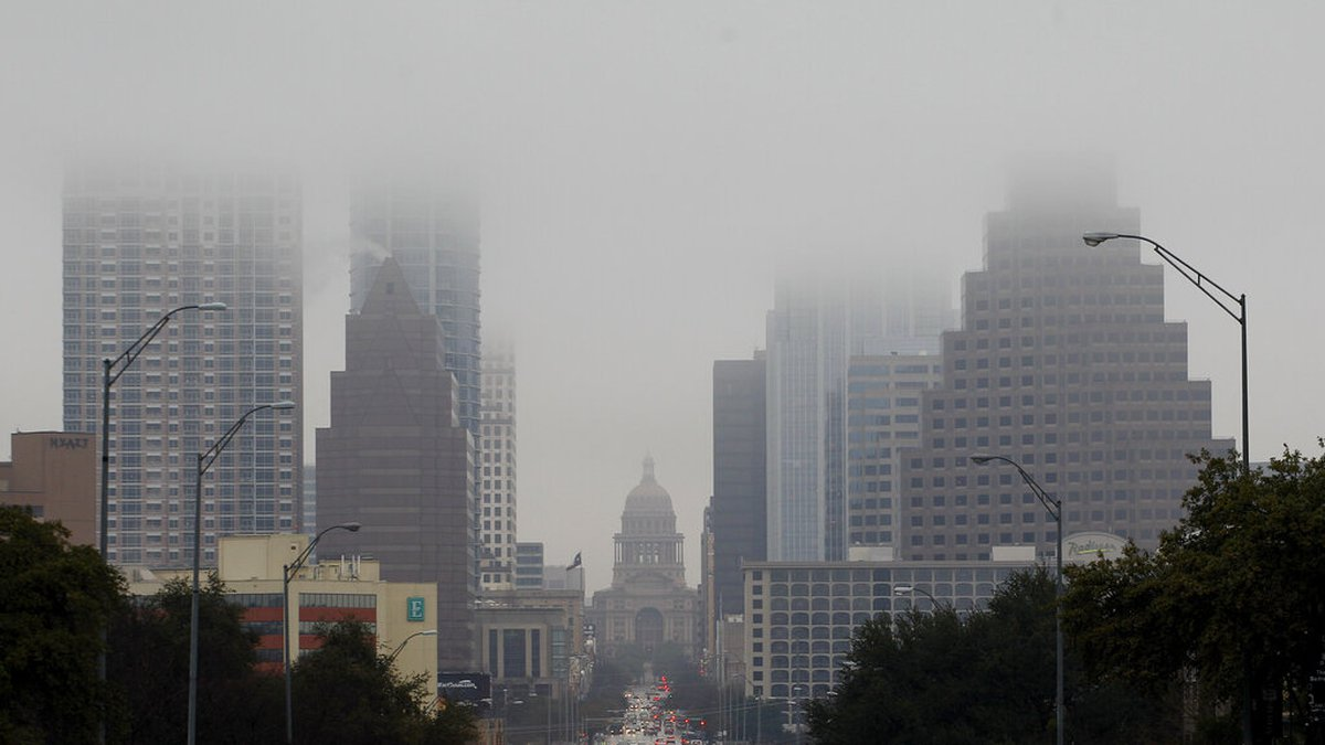 FILE: The Texas Capitol and downtown  Austin, Texas. (AP Photo/Eric Gay)