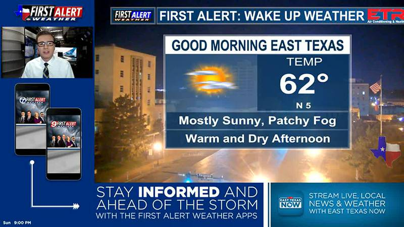 Sunday Overnight Weather At Your Fingertips 10-3-21