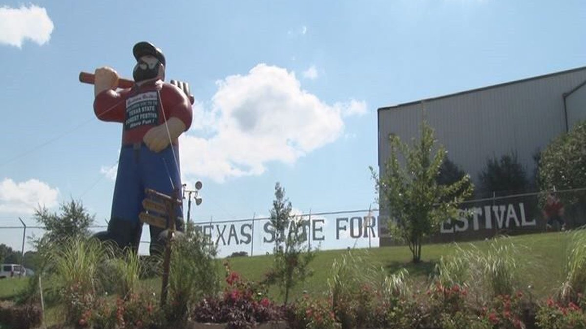 This year's forest festival had about 25,000 guests (Source: KTRE Staff)