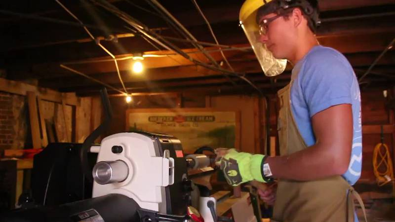 Gilmer teenage entrepreneur starting his own woodworking business