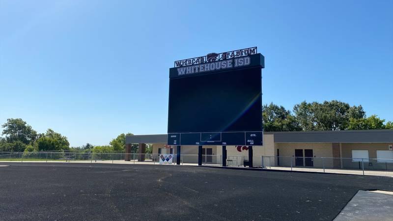 Wildcat Stadium scoreboard