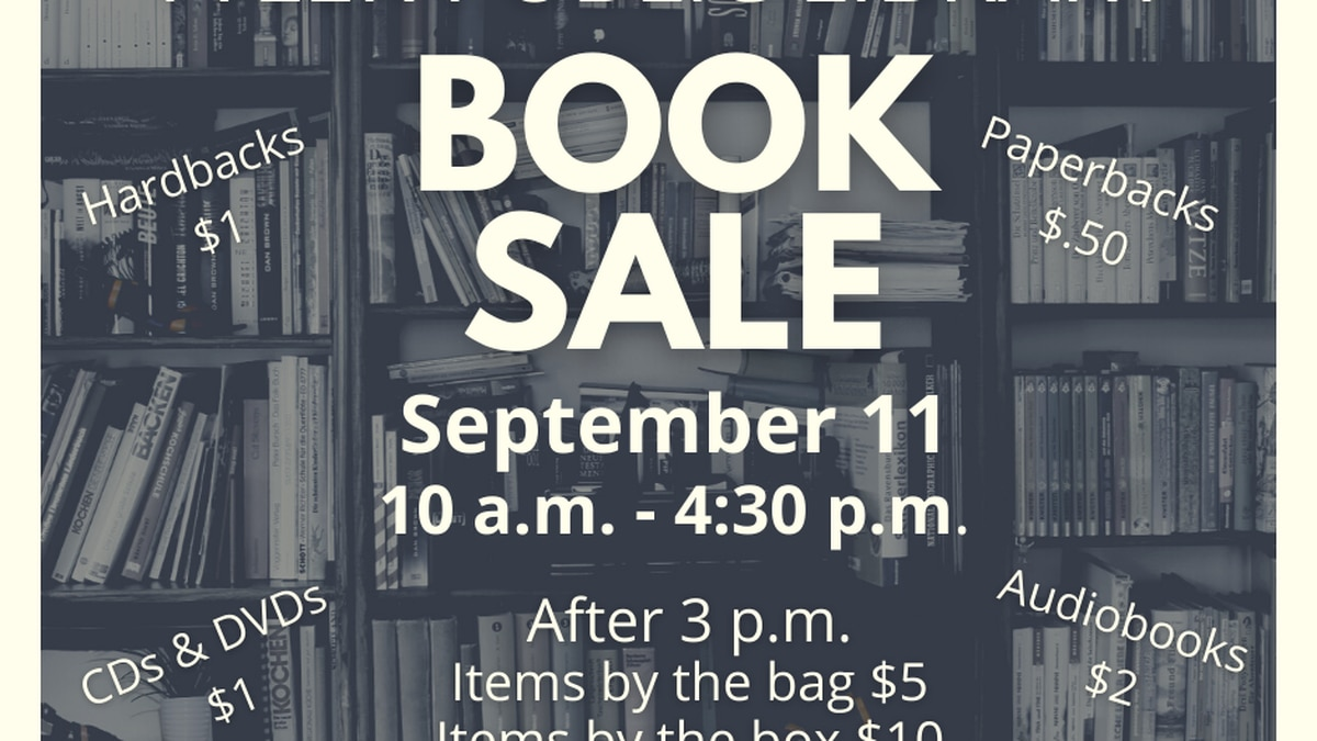 Book Sale September 11