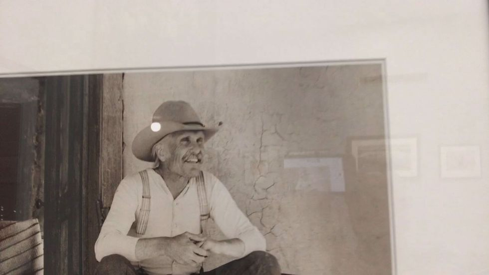 A new exhibit at the East Texas Oil Museum features images captured during the filming of Larry...