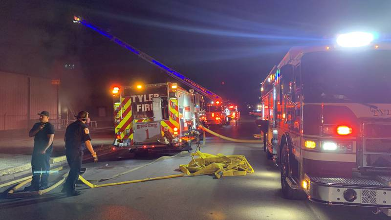 Tyler Fire Department responds to possible explosion at Greenberg Turkey