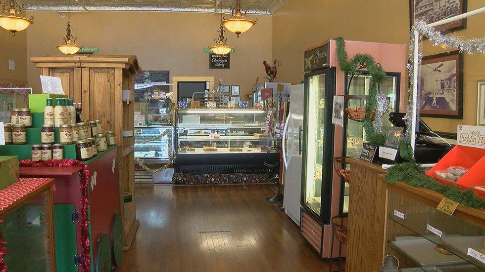 MARK IN TEXAS HISTORY: Eilenberger's Bakery