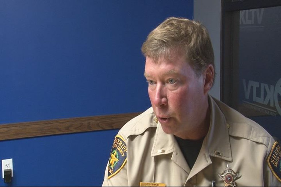 Lieutenant Gary Middleton with the Smith County Sheriff's office. (Source: KTLV staff)