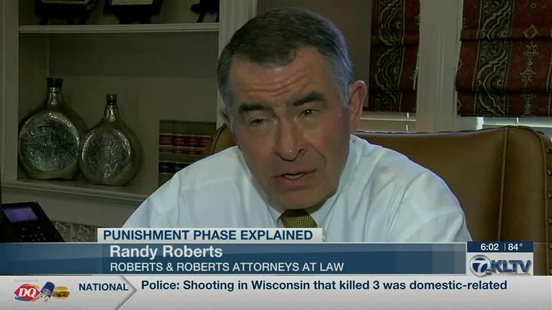 Roberts Explains Punishment Phase