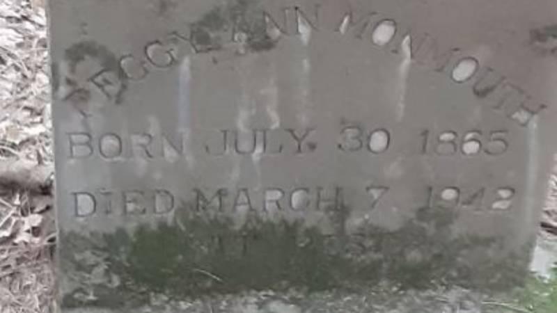 Ponta graves and headstones found