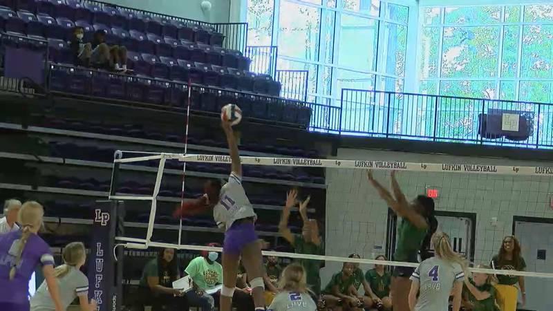 Lufkin volleyball vs Longview