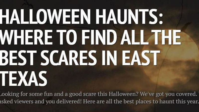 Looking for a good scare? We've got you covered.