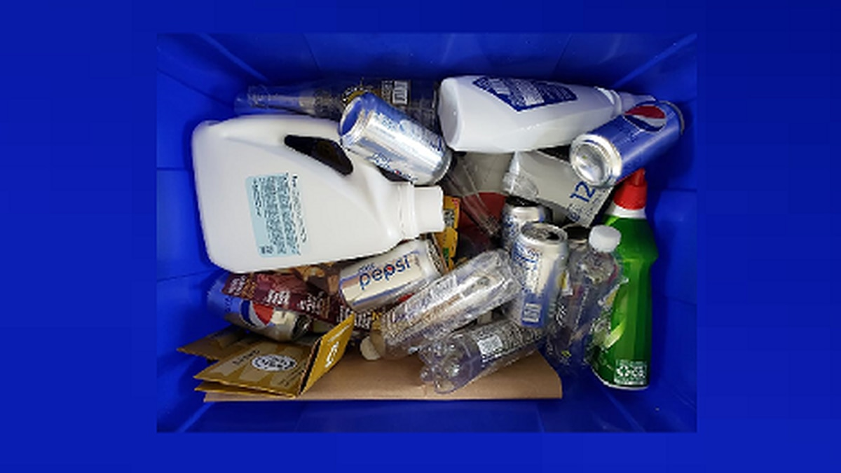 The City's contract with the company who collects the curbside recyclables, Republic Services,...