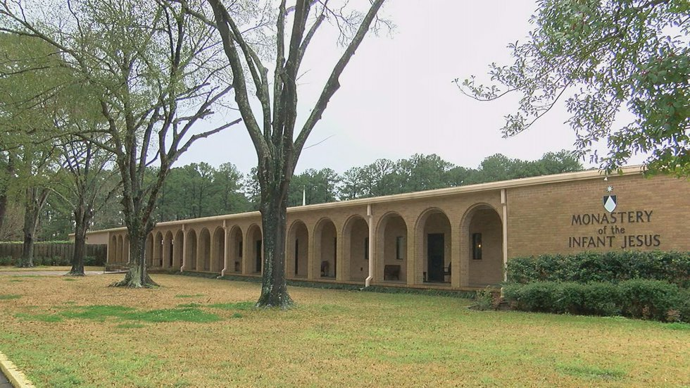 The Monastery of the Infant Jesus was established in Lufkin, Texas in 1945.