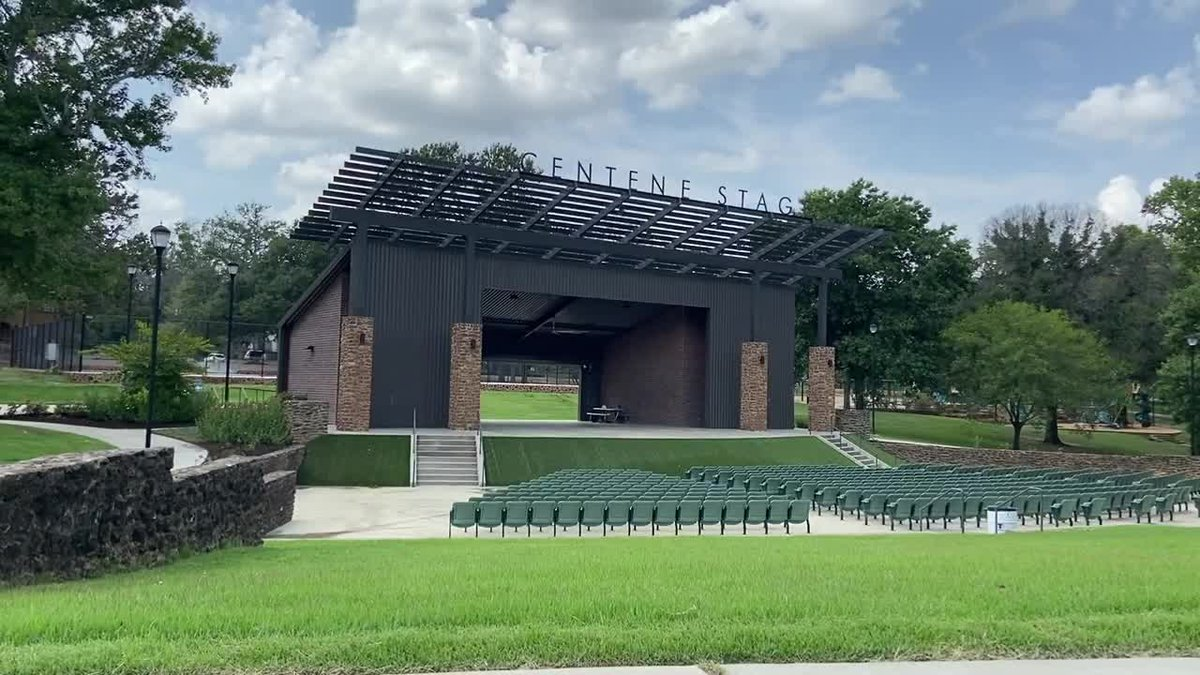 Bergfeld Park amphitheater in Tyler.
