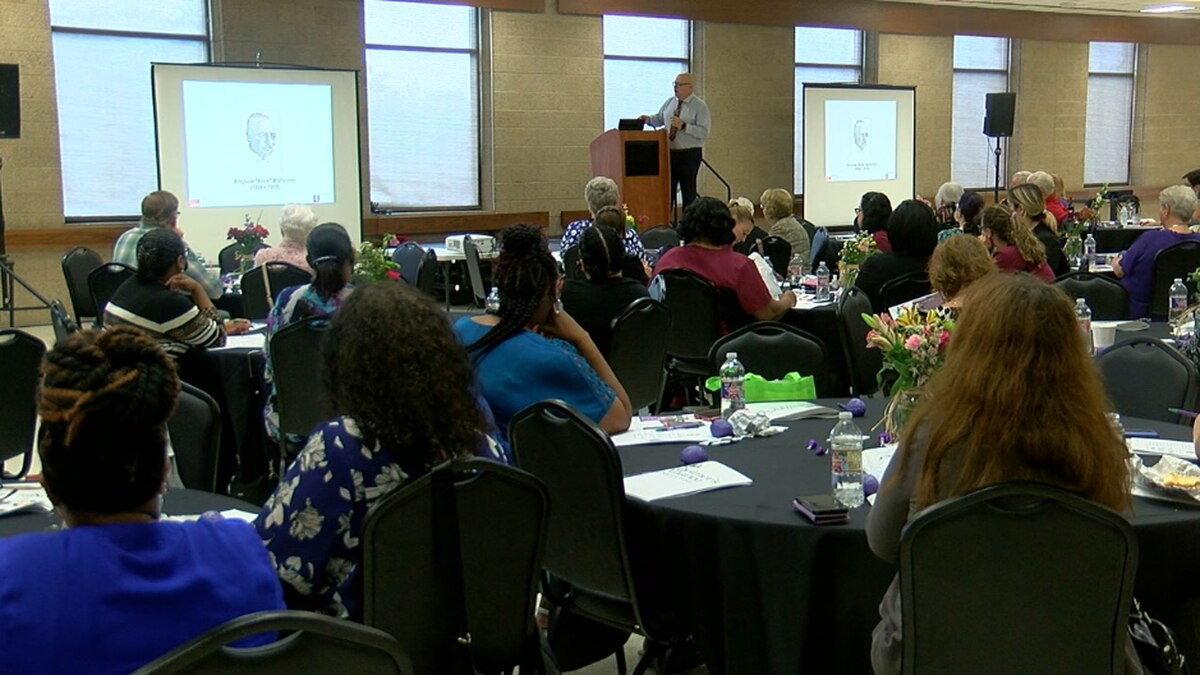 The Alzheimer's Alliance of Smith County hosted the 20201 Dementia Care Conference for loved...