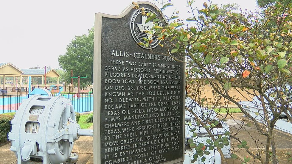 MARK IN TEXAS HISTORY: Allis-Chalmers Pumps